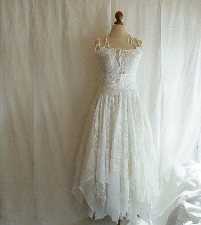 abito da sposa shabby chic 12