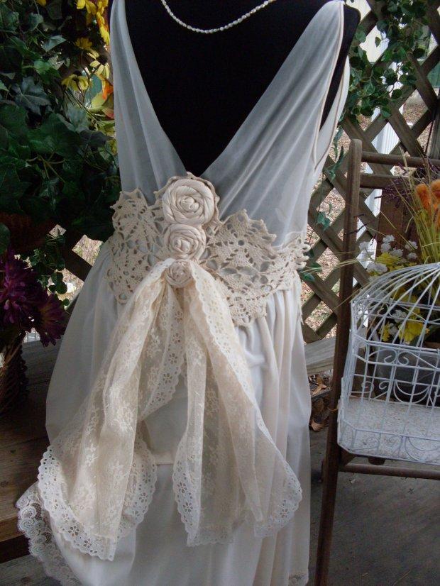 abito da sposa shabby chic 13