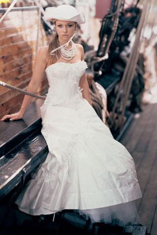 abito da sposa shabby chic 3