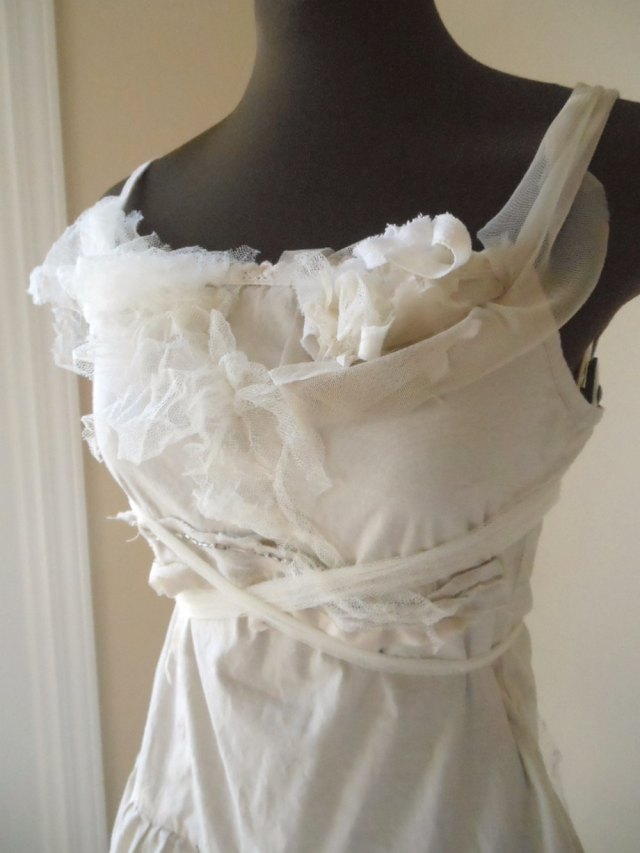abito da sposa shabby chic 5