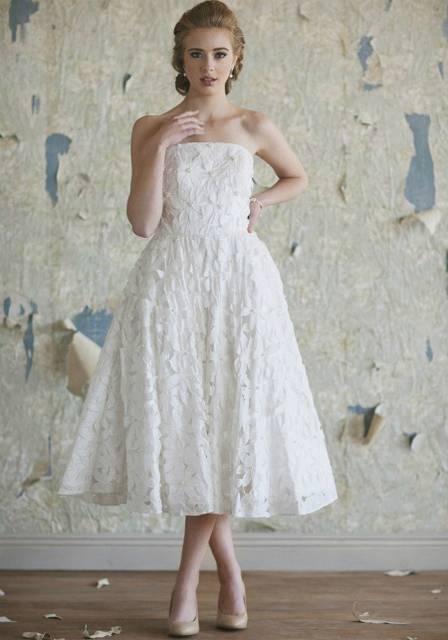 abito da sposa shabby chic 9
