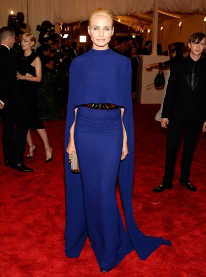 cameron diaz in stella mccartney met gala 2013
