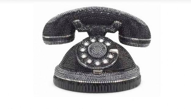 clutch judith leiber aforma-di-telefono