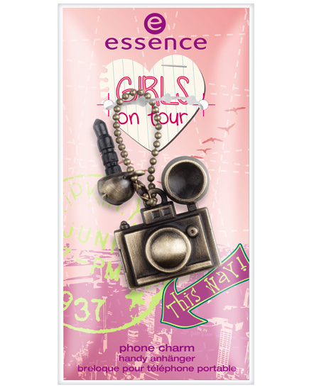 essence girl on tour 2013 accessorio cellulare