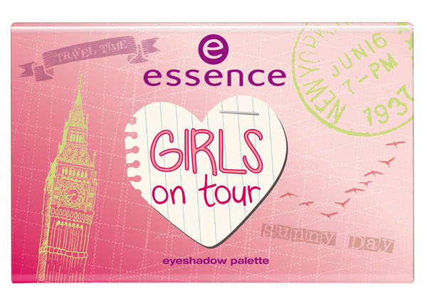 essence girl on tour 2013 palette ombretti 2