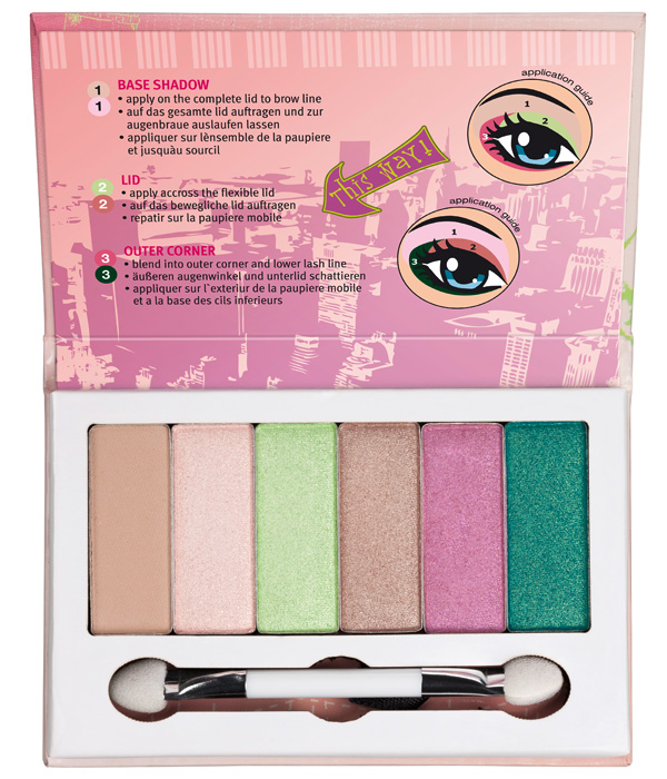 essence girl on tour 2013 palette ombretti