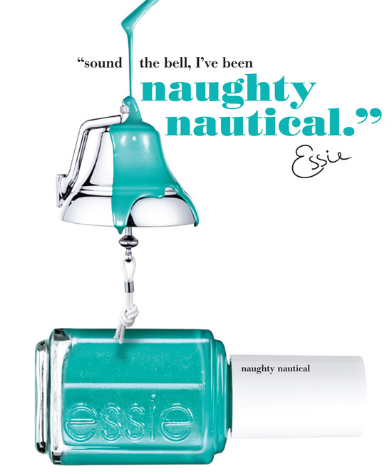 Essie estate 2013 Naughty Nautical Collection