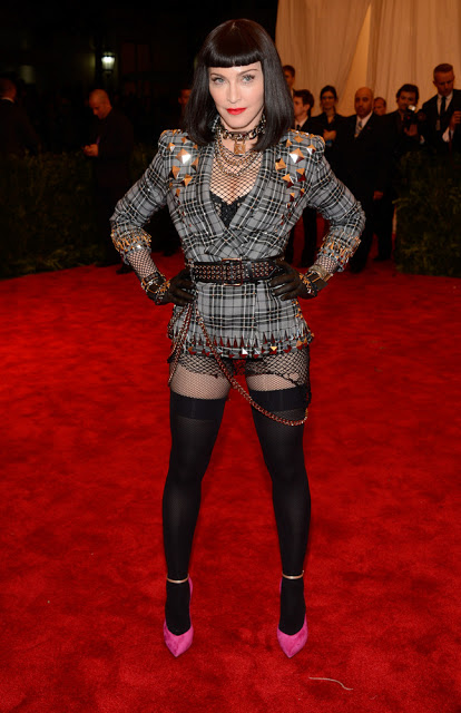 madonna in givenchy met gala 2013