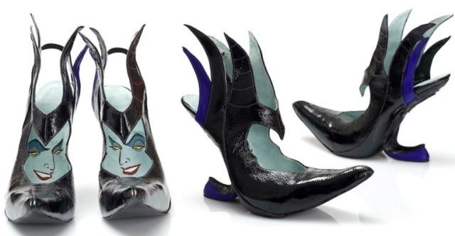 scarpe disney strega melefica