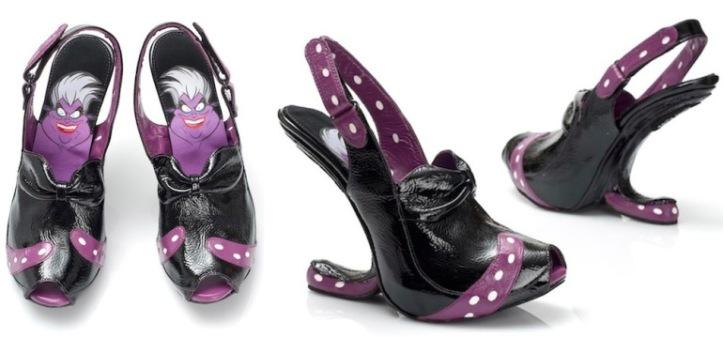 scarpe disney strega ursula