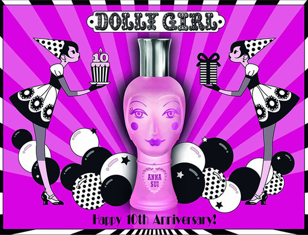 anna sui dolly girl decimo anniversario