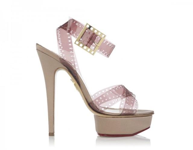 charlotte olympia scarpe pellicola collezione cinema 2013