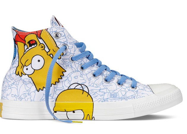 _Converse_The_Simpsons_sneakers family