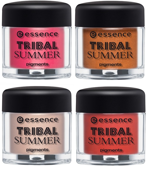 essence tribal summer collection pigmenti