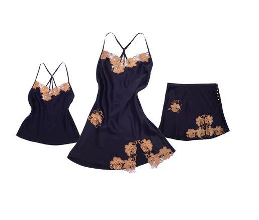 lingerie in oro