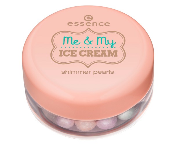 me & my ice cream collection essence  shimmer pearls 2013