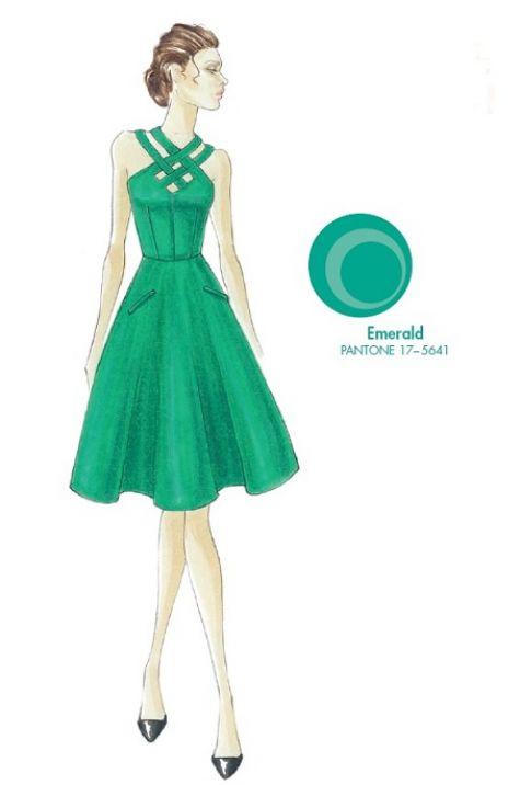 pantone emerald