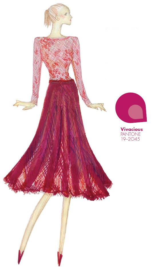 pantone vivacious