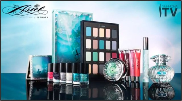 sephora ariel collection