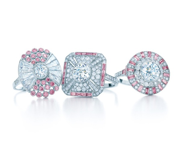 TIFFANY-PINK-AND-WHITE-DIAMOND-RINGS-FROM-THE-2013-BLUE-BOOK-COLLECTION
