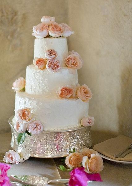 wedding cake shabby chic 13