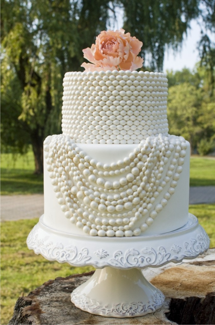 wedding cake shabby chic 19