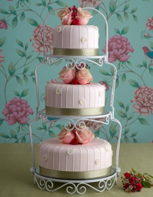 wedding cake shabby chic 20