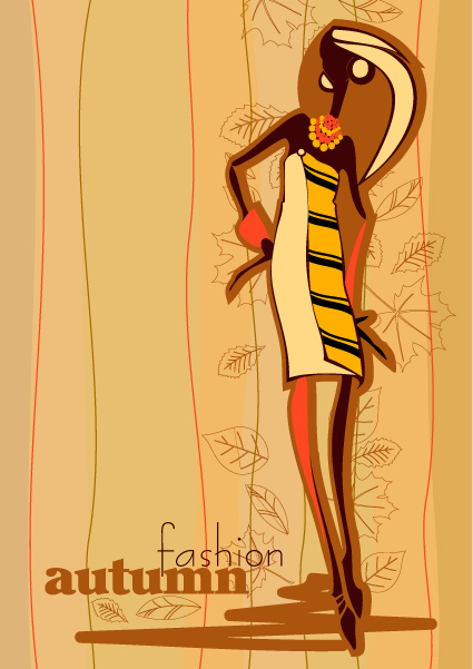 autunno fashion vector 2