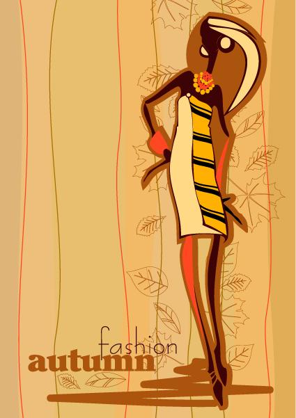 autunno fashion vector 2
