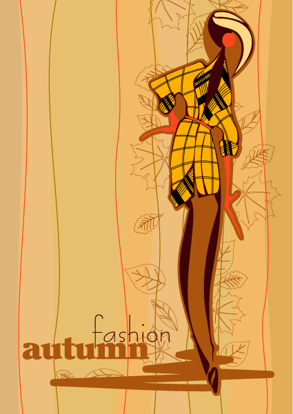 autunno fashion vector