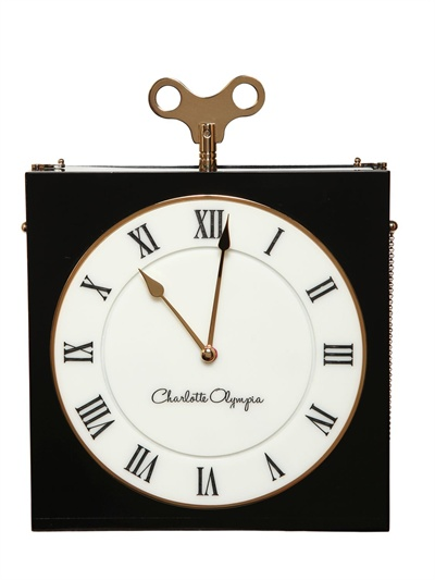 charlotte olympia clutch time