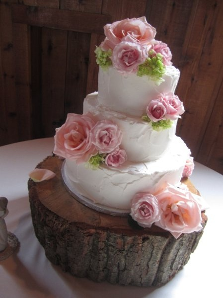wedding cake shabby chic 24