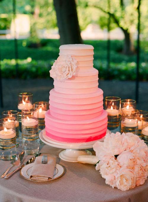 wedding cake shabby chic 25