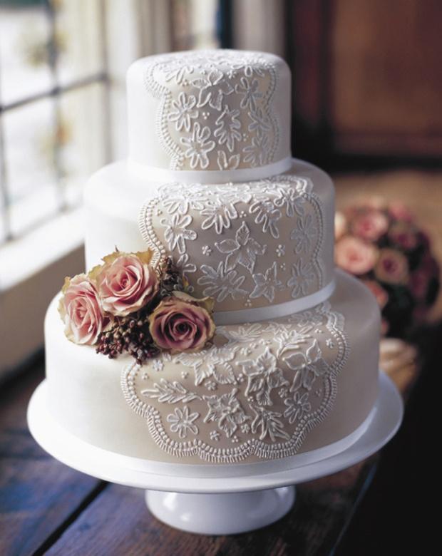 wedding cake shabby chic 27