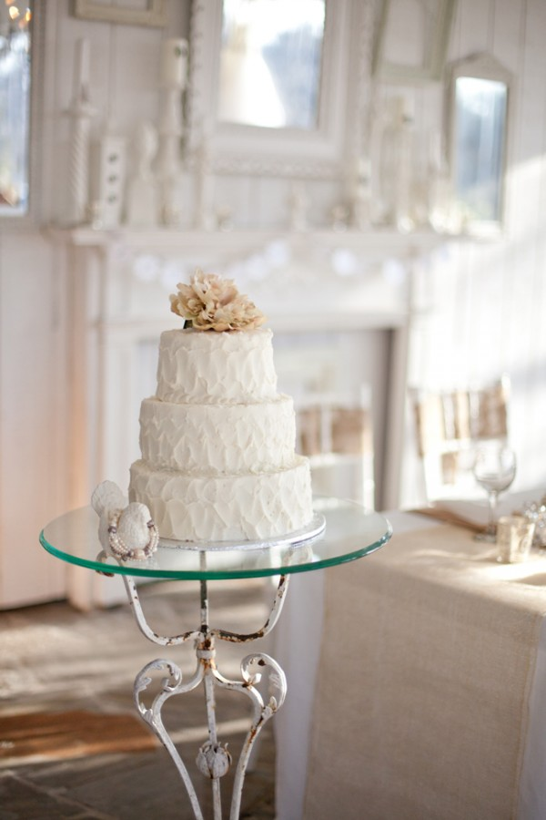 wedding cake shabby chic 31