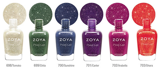 Zoya inverno 2013-PixieDust-Collection