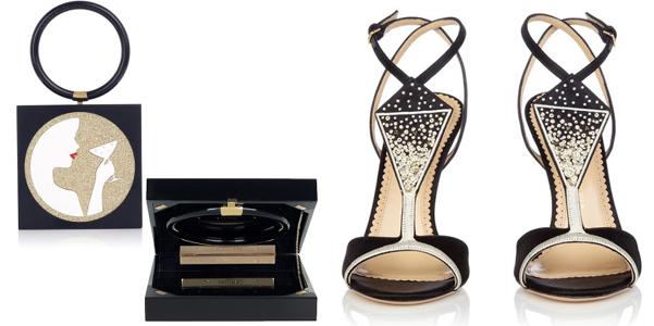 Charlotte-Olympia-Veuve-Clicquot collezione scarpe 2013