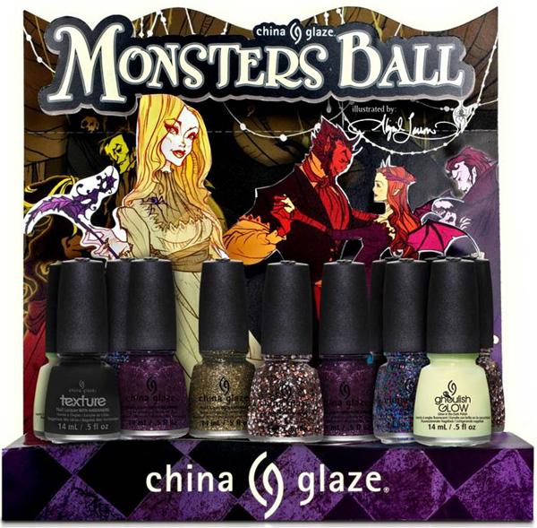 China Glaze Halloween 2013-Monsters-Ball-Collezione smalti