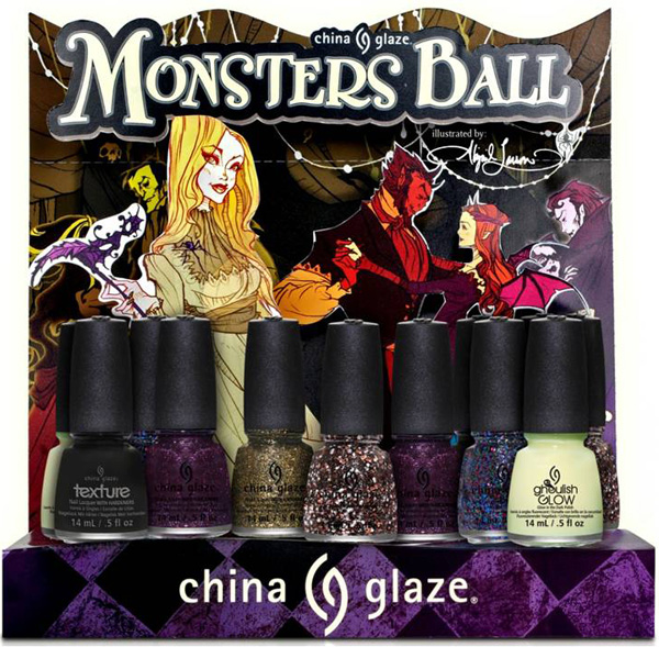 China Glaze Halloween 2013-Monsters-Ball-Collezione smalti