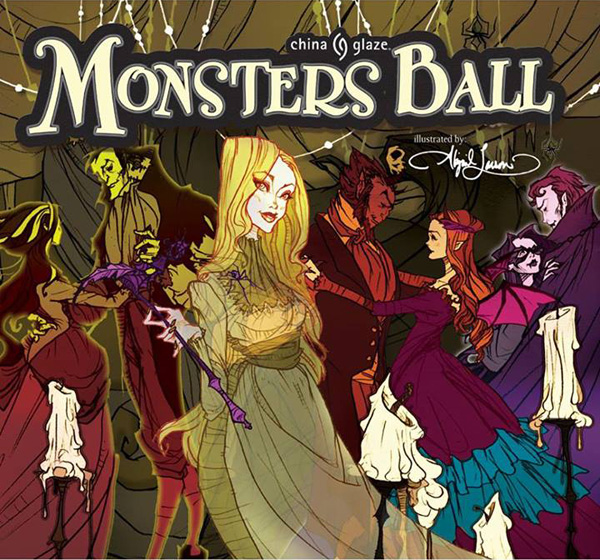 China-Glaze-Halloween-2013-Monsters-Ball collezione