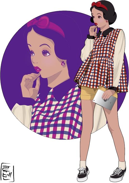 Disney-Blancanieve hyung 86