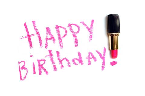 Lipstick Birthday Greetings