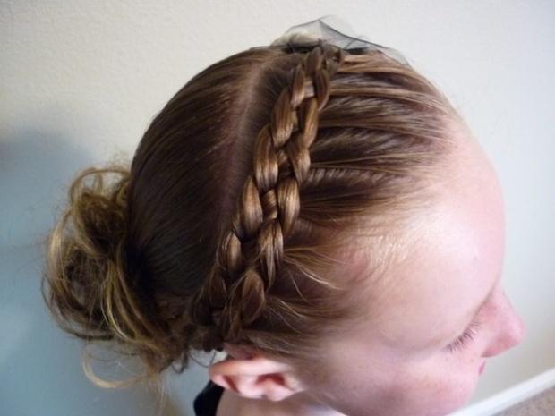 capelli treccia bambina