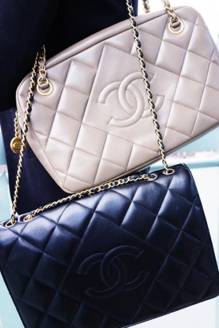 Diamond bag by chanel