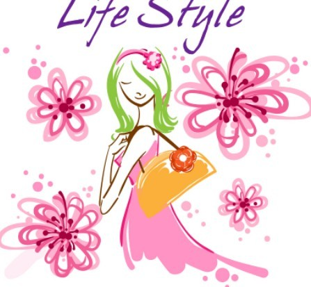 Fashion-Hand-Drawn-Vector-Spring-Girl-01