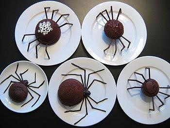 halloween dolci ragni
