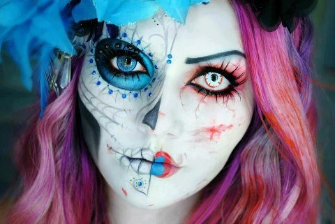 halloween make up 8