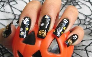 halloween nails 2