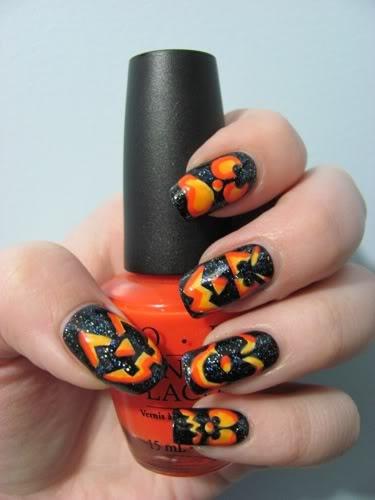 halloween nails 5