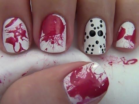 halloween nails 6
